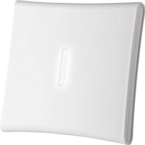 Sirène/Lumiére stroboscopique Visonic MCS-720B - Sans fil - 3,60 V - 110 dB - Audible, Visuel - Fixation Murale, Montage Affleurant/Encastré - Blanc