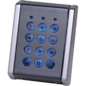 Dispositif d'accès clavier XPR EX5-72C - Gris, Chrome - Porte - Code clé - 99 Utilisateur(s) - 24 V DC - Standalone, Support