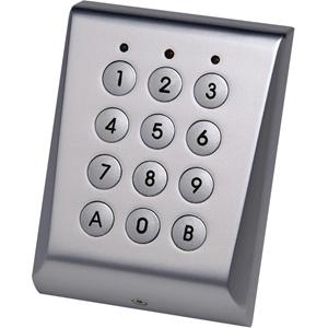 Dispositif d'accès clavier XPR VKP99 - Chrome - Code clé - 99 Utilisateur(s) - 24 V DC - Support