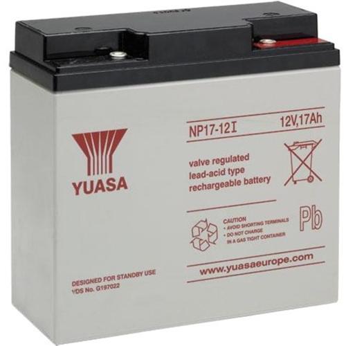 Batterie Yuasa NP17-12I - 17000 mAh - Scellées au plomb-acide (SLA) - 12 V DC - Batterie rechargeable - 1 / Paquet