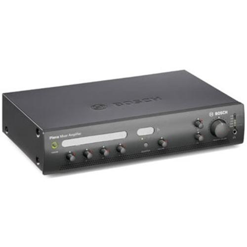 Amplificateur mélangeur, 60 W, 4 entrées microphones et 3 entrées de musique d'ambiance. - Fréquence 50 Hz/20 kHz - 200 W - Ethernet