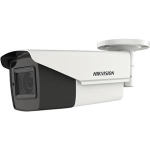 Caméra de surveillance Hikvision Turbo HD DS-2CE16H0T-IT3ZF 5 Mégapixels - Monochrome, Couleur - 40 m Night Vision - 2560 x 1944 - 2,70 mm - 13,50 mm - 5x Optique - CMOS - Câble - Ogive - Support pour boîte de jonction, Montant, Montage en Coin