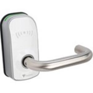 Dispositif d'accès par carte Paxton Access PaxLock Pro - Blanc - Porte - Proximité - 1 Porte(s) - Fixation sur porte