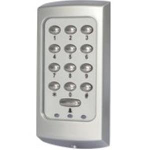 Lecteur de carte/Dispositif d'accès clavier Paxton Access KP75 - Porte - Proximité, Code clé