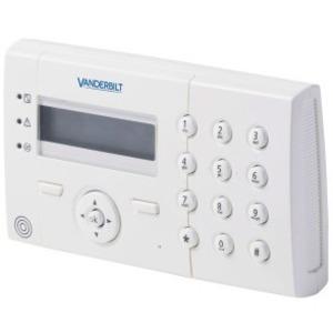 Vanderbilt Clavier sécurité - Pour centrale  - Blanc - Plastique ABS