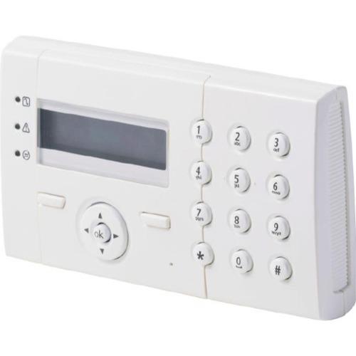 Vanderbilt Clavier sécurité - Pour Tableau de Commande - Blanc de Signalisation - Plastique ABS
