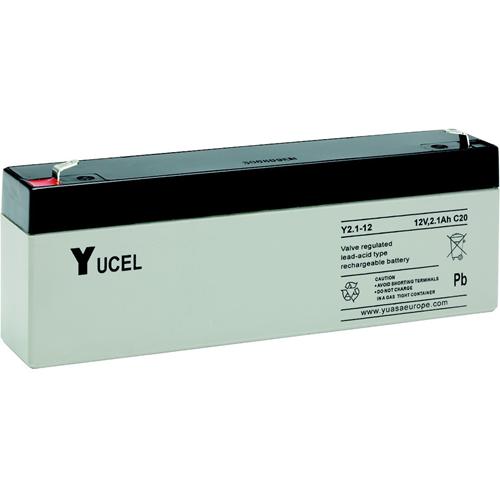 Batterie Yuasa Yucel - 2100 mAh - Lead Acid - 12 V DC - Batterie rechargeable