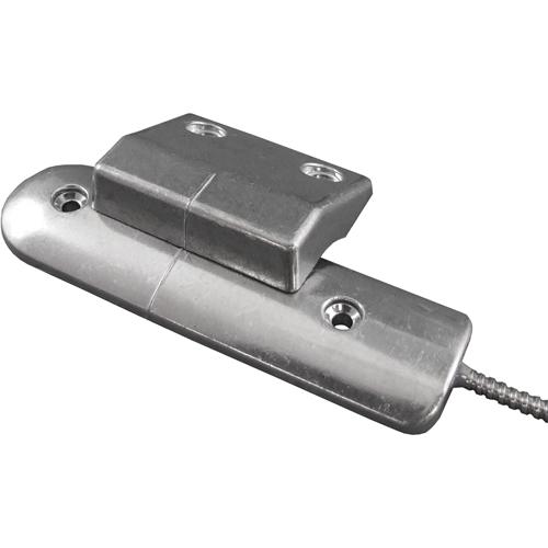 CQR RS002 Câble Contact magnétique - SPST (N.O.) - 60 mm Écartement - Pour Volet roulant - Aluminium