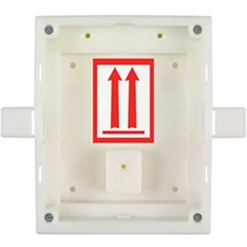 Boîte de Montage 2N - Plastique - Blanc - Montage Affleurant/Encastré