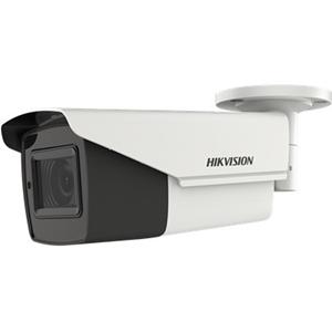 Caméra de surveillance Hikvision Turbo HD DS-2CE16H0T-IT3ZE 5 Mégapixels - Monochrome, Couleur - 40 m Night Vision - 2560 x 1944 - 2,70 mm - 13,50 mm - 5x Optique - CMOS - Câble - Ogive - Support pour boîte de jonction, Montant, Montage en Coin