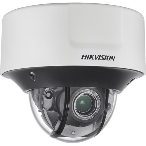 Caméra réseau Hikvision Darkfighter DS-2CD5546G0-IZ(H)S 4 Mégapixels - Monochrome, Couleur - 30 m Night Vision - H.264+, Motion JPEG, H.264, H.265, H.265+ - 2560 x 1440 - 2,80 mm - 12 mm - 4,3x Optique - CMOS - Câble - Dome - Montage suspendu, Fixation murale, Montant, Montage en Coin