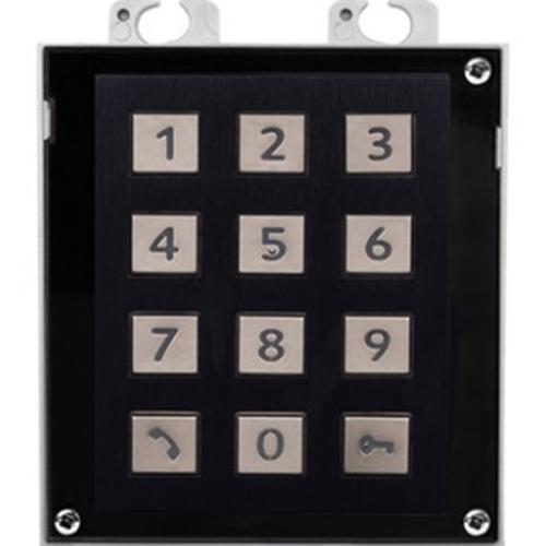 2N Clavier sécurité pour Panneau d'entrée de porte - Noir
