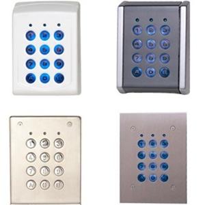 Dispositif d'accès clavier XPR EX6M-72C - Porte - Code clé - 1000 Utilisateur(s) - 10 Porte(s) - 50 mm Plage de fonctionnement - Série - 24 V DC - Support