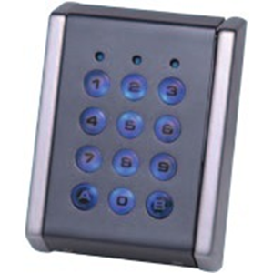 Dispositif d'accès clavier XPR EX6-72C - Porte - Code clé - 1000 Utilisateur(s) - 10 Porte(s) - 50 mm Plage de fonctionnement - Série - 24 V DC - Support
