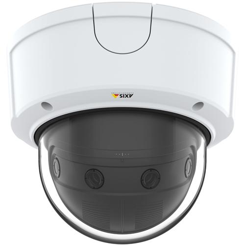 Caméra réseau AXIS P3807-PVE 8,3 Mégapixels - H.264, MPEG-4, MJPEG - 4320 x 1920 - RGB CMOS - Fixation encastrée, Montant, Fixation murale, Montage parapet, Fixation au plafond, Montage en Coin
