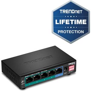 Commutateur Ethernet TRENDnet TPE-LG50 5 Ports - Nouveau - 2 Couche supportée - Paire torsadée - Fixation au mur