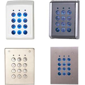 Dispositif d'accès clavier XPR EX6M-102A - Porte - Code clé - 1000 Utilisateur(s) - Série - 24 V DC - Montage Affleurant/Encastré