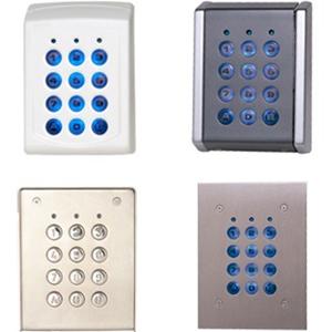 XPR Clavier sécurité pour Système de contrôle d'accès - Résistant aux UV, Résistant à la poussière, Réssistant à la pluie - Polycarbonate