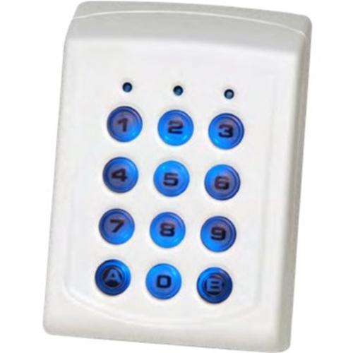 Dispositif d'accès clavier XPR EX6-43B - Intérieur, Extérieur - Code clé - 1000 Utilisateur(s) - 10 Porte(s) - Série - 24 V DC - Support, Standalone