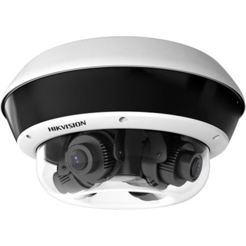 Caméra réseau Hikvision PanoVu DS-2CD6D54FWD-IZHS 20 Mégapixels - Dome - 30 m Night Vision - H.264, MJPEG, H.265, H.265+, H.264+ - 2560 x 1920 - 4,2x Optique - CMOS - Montage suspendu, Fixation murale, Montant, Montage en Coin