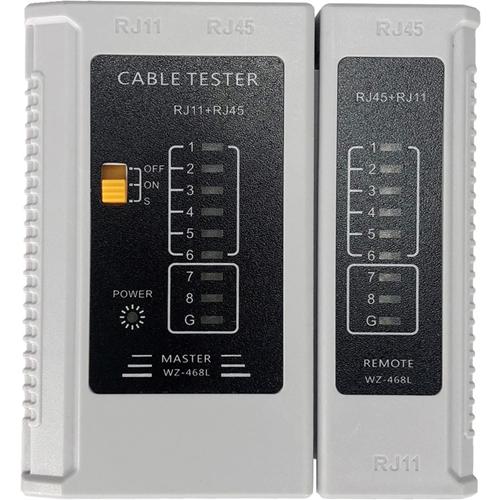 Testeur de Câble W Box - Essai de Câble à Paire Torsadée, Test de câbles - Réseau (RJ-45) - 9V