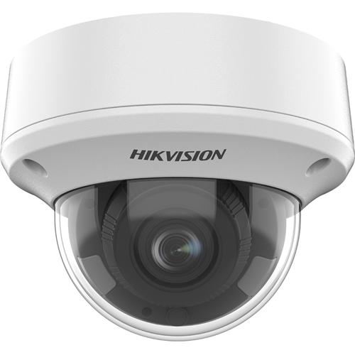 Caméra de surveillance Hikvision Turbo HD DS-2CE5AH8T-AVPIT3ZF 5 Mégapixels - Dome - 60 m Night Vision - 2560 x 1944 - 5x Optique - CMOS - Montage suspendu, Fixation au plafond, Support pour boîte de jonction, Montage en Coin, Montant, Fixation murale