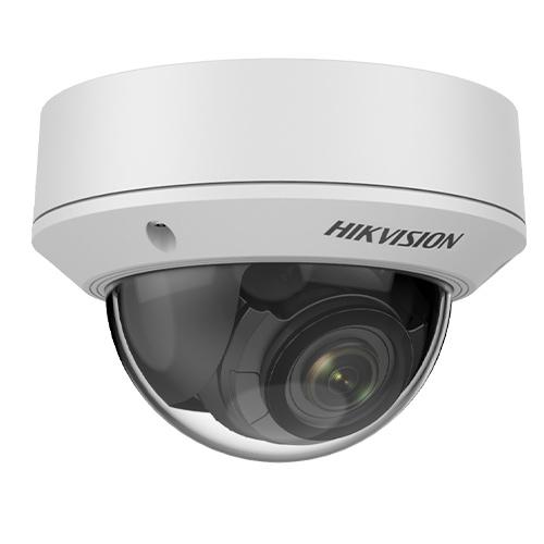 Caméra réseau Hikvision Value DS-2CD1753G0-IZ 5 Mégapixels - Couleur - Dome - 30 m Infrarouge vision nocturne - H.264, H.264+, H.265, H.265+, MJPEG - 2560 x 1920 - 2,80 mm- 12 mm Varifocale Lens - 4,3x Optique - CMOS - Montage en Coin, Support pour boîte de jonction, Montant, Montage suspendu, Fixation murale, Fixation au plafond - IK10 - IP67 - Étanche, Résistant à la poussière, Anti-Vandalisme