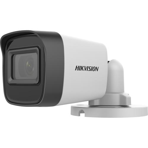 Caméra de surveillance Hikvision Turbo HD Value DS-2CE16H0T-ITF(C) 5 Mégapixels - Bullet mini - 30 m Night Vision - 2560 x 1944 - CMOS - Support pour boîte de jonction