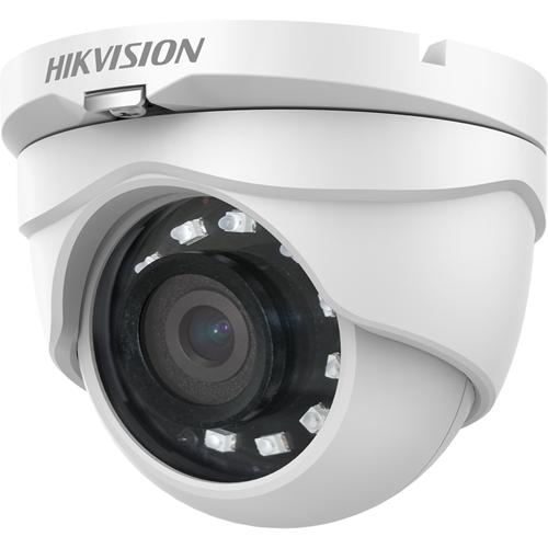 Caméra de surveillance Hikvision DS-2CE56D0T-IRMF (C) 2 Mégapixels - Turret - 25 m Night Vision - 1920 x 1080 - CMOS - Fixation murale, Montage verticle, Montant, Montage en Coin, Support pour boîte de jonction
