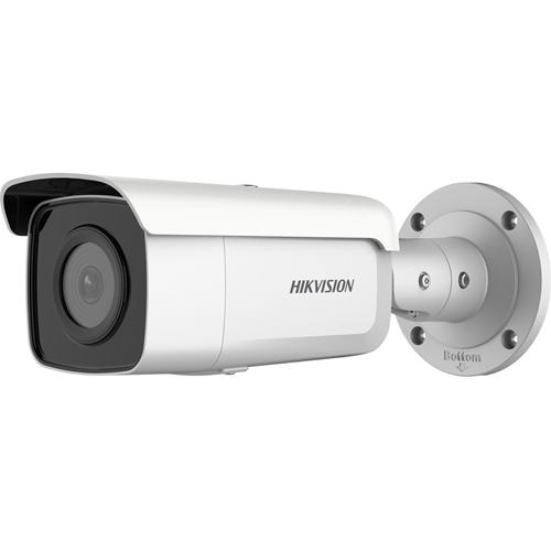 Caméra réseau Hikvision EasyIP DS-2CD2T46G2-4I 4 Mégapixels - Ogive - 80 m Night Vision - H.265, H.265+, H.264+, H.264, MJPEG - 2592 x 1944 - CMOS - Montant, Montage en Coin, Support pour boîte de jonction