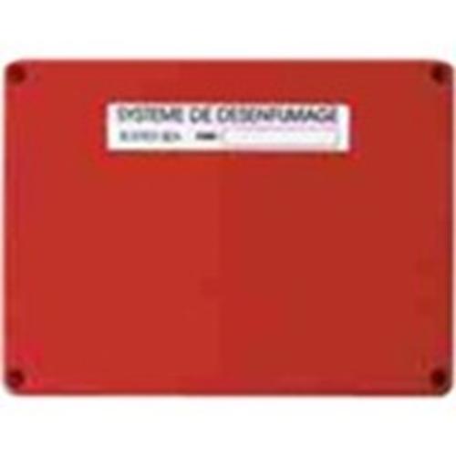 FINSECUR pour Détecteur de fumée, Tableau de Commande, Poste avertisseur - Residential, Building - Rouge