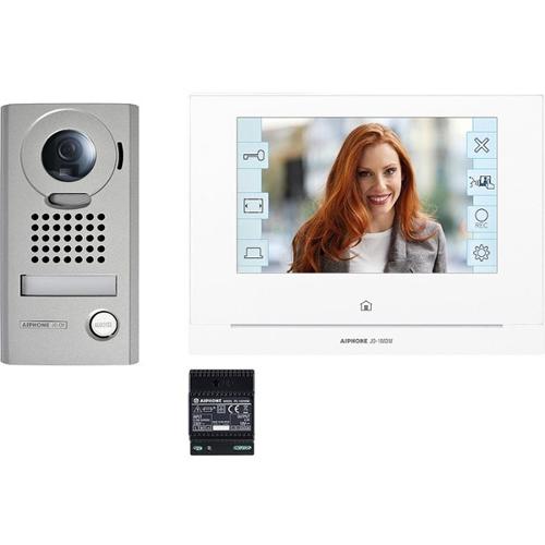 """Portier Vidéo Aiphone 17,8 cm (7"""") - Écran tactile LCD - Entrée de porte"""