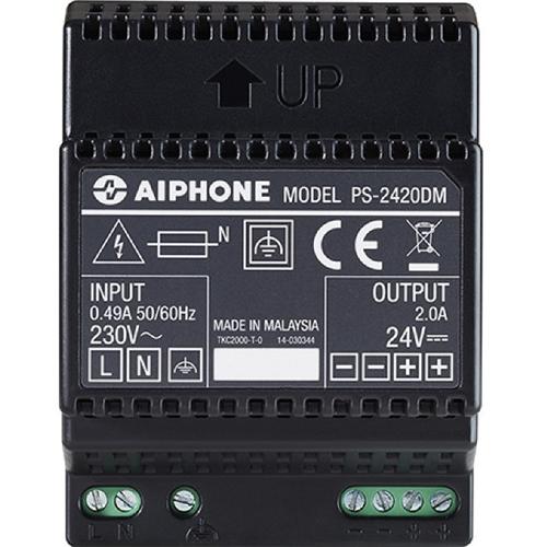 Système d'alimentation Aiphone PS-2420DM - Rail DIN - 230 V AC Entrée