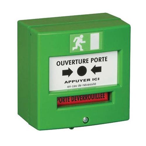 NEUTRONIC Poussoir manuel Pour Intérieur - Vert