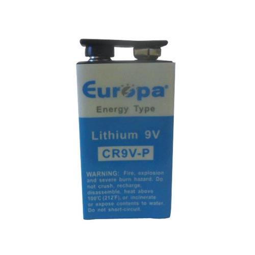 Batterie EUROPA - Lithium (Li) - Batterie rechargeable - 9 V - 1200 mAh