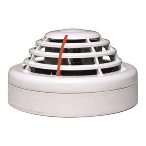 Détecteur de fumée FINSECUR - Blanc - Filaire - 12 V DC