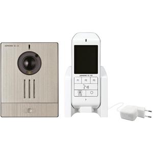 Sonnette vidéo Aiphone WL11 - Sans fil - 35 m - Réseau sans-fil