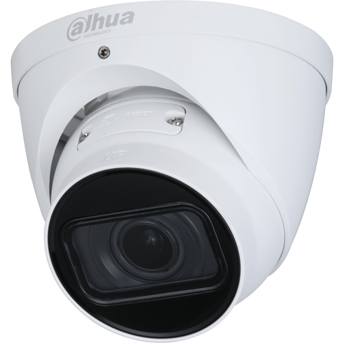 Caméra réseau Dahua Lite IPC-HDW2431T-ZS-S2 4 Mégapixels - Sphérique - 60 m Night Vision - H.264, H.265, H.264B, MJPEG - 2688 x 1520 - 5x Optique - CMOS - Support pour boîte de jonction, Montant, Fixation murale, Fixation au plafond