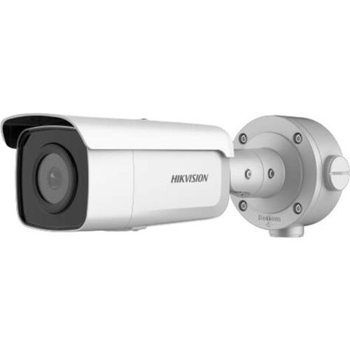 Caméra réseau Hikvision Smart IP DS-2CD3T56G2-4IS 5 Mégapixels - Ogive - 90 m Night Vision - H.265+, H.265, H.264, H.264+, MJPEG - 2592 x 1944 - CMOS - Support pour boîte de jonction, Montage verticle, Montant, Montage en Coin