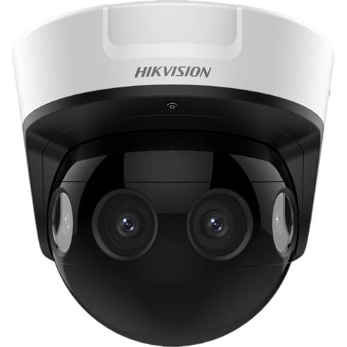Caméra réseau Hikvision PanoVu DS-2CD6924G0-IHS 8 Mégapixels - Dome - 20 m Night Vision - H.265+, H.265, H.264+, H.264, MJPEG - 3840 x 2160 - CMOS - Fixation murale, Montage suspendu