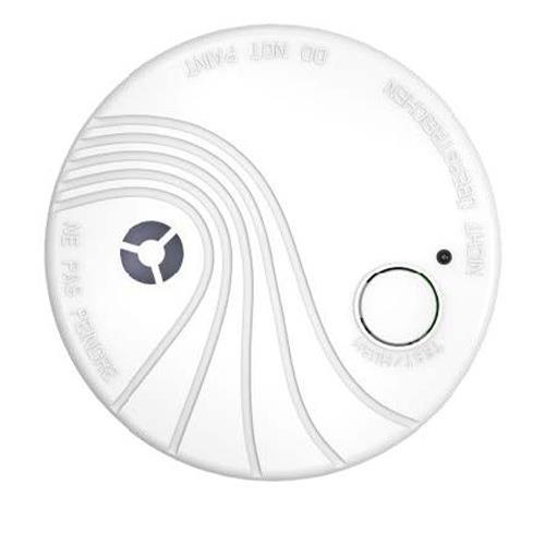Détecteur de fumée Hikvision DS-PDSMK-S-WE - Cellule photoélectrique - Sans fil - 3 V DC - 10 an(s) Batterie - Fixation au plafond Pour Intérieur