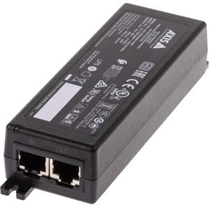 Injecteur POE AXIS - 120 V AC, 230 V AC Entrée - 56 V DC Sortie - 1 Ethernet Port(s) d'entrée - 1 PoE (Power Over Ethernet) Port(s) de sortie - 30 W - Noir