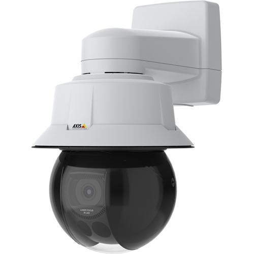 Caméra réseau AXIS Q6315-LE 50 HZ Extérieur - Couleur - Dome - H.264 (MPEG-4 Part 10/AVC), H.265 (MPEG-H Part 2/HEVC), MJPEG, H.264, H.265 - 1920 x 1080 - 6,91 mm- 214,64 mm Fixe Lens - 31x Optique - CMOS - IK10 - IP66, IP67