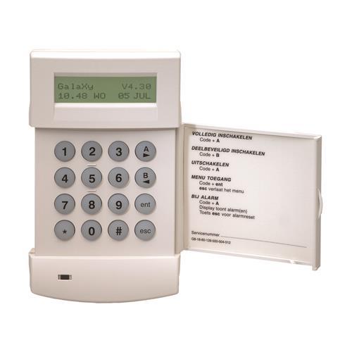 Honeywell CP037-50 Clavier sécurité - Pour Tableau de Commande