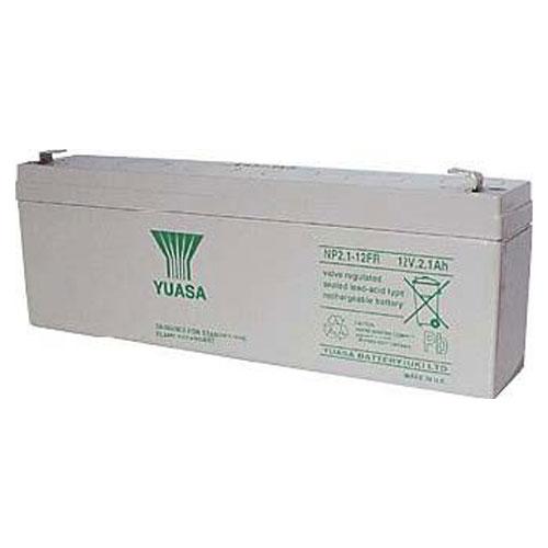 Batterie/Pile Yuasa - 2100 mAh - 12 V DC - Scellées au plomb-acide (SLA) - Sans entretien/Scellé - 20 Heure(s) Recharge Time