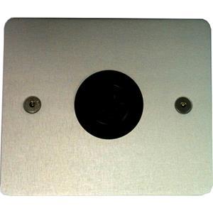 CADRES INTERCOM FACE INOX T25 90X90