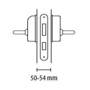 ACCESSOIRE VENTOUSES Kit porte 50-54 mm