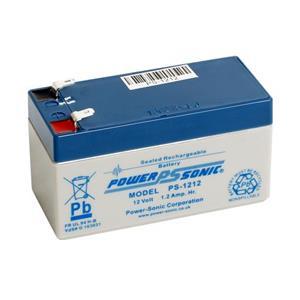 Batterie Power-Sonic PS-1212 - 1200 mAh - Scellées au plomb-acide (SLA) - 12 V DC - Batterie rechargeable
