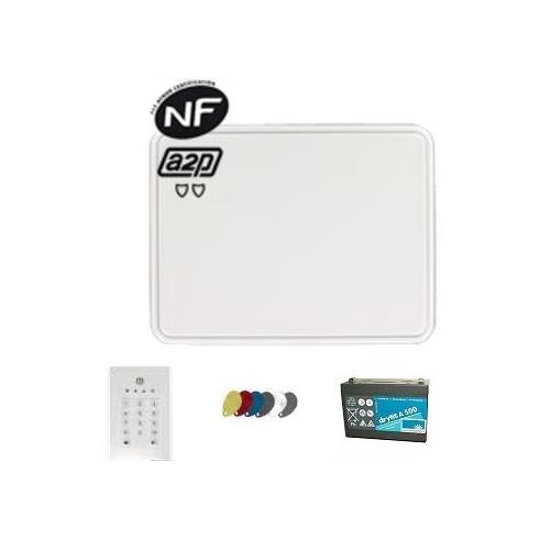KIT SANS FIL BOX BATT KEYPAD/SIREN TAG