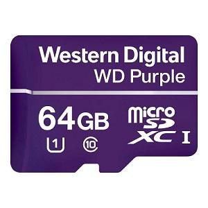 Carte MicroSDXC WDD064G1P0A  - Western Digital